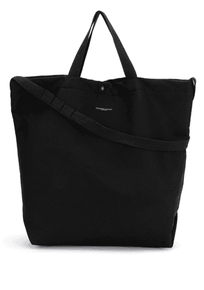 Engineered Garments logo-print tote bag - Black