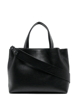 Fabiana Filippi textured leather tote bag - Black