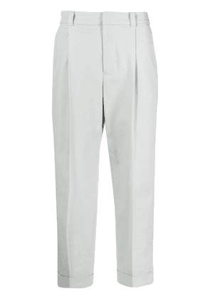 Acne Studios tapered-fit trousers - Green