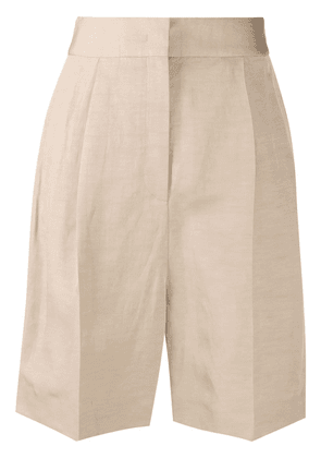 Fabiana Filippi pressed-crease tailored shorts - Neutrals
