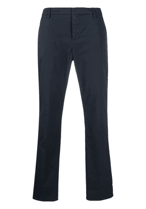 Dondup concealed fastening tailored trousers - Blue