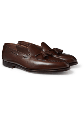 George Cleverley - Adrian Leather Tasselled Loafers - Men - Brown