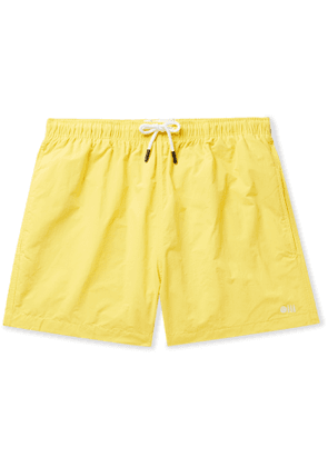 Solid & Striped - The Classic Mid-Length Swim Shorts - Men - Yellow