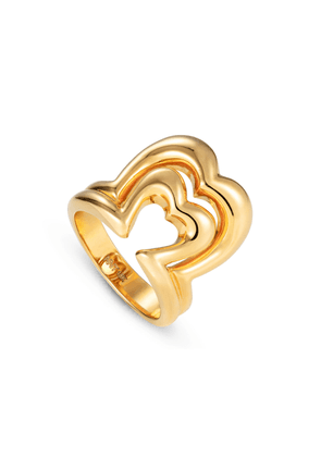 NeverNoT - Women's 18K Yellow Gold Ready 2 Burst Ring - Gold - Only At Moda Operandi - Gifts For Her