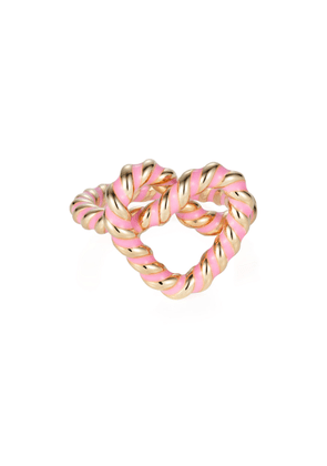 NeverNoT - Women's 18K Yellow Gold Ready 2 Twist Ring - Pink - Only At Moda Operandi - Gifts For Her
