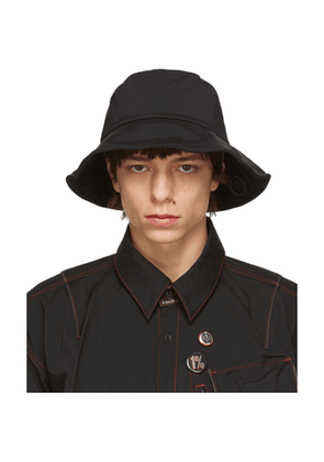 99% IS Black Pocket Bucket Hat
