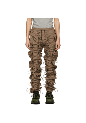 99% IS Brown Reflective Gobchang Lounge Pants