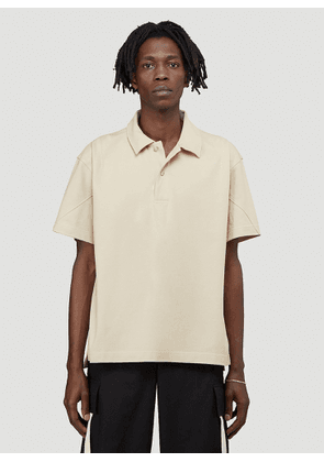Jacquemus Le Polo Terraio Polo Shirt in Beige