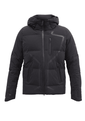 Descente Allterrain - Mizusawa Storm Hooded Down Quilted Technical Coat - Mens - Black