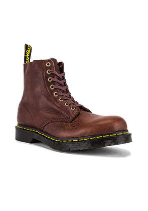 Dr. Martens 1460 Pascal Boot in Brown. Size 7, 9.
