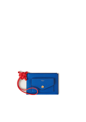 Mulberry Women's Wristlet Pouch with Knot - Porcelain Blue