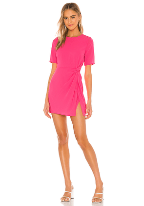 NBD Lottie Mini Dress in Pink. Size XS.