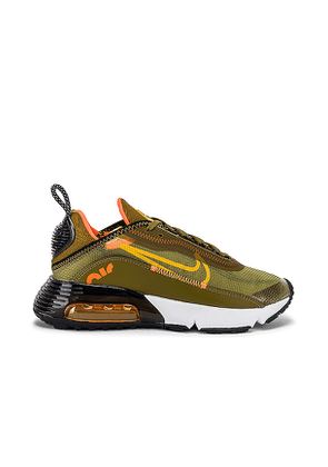 Nike Air Max 2090 Sneaker in Green. Size 8.