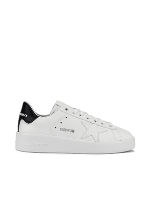 Golden Goose Pure Star Sneaker in White. Size 36, 37, 38, 39, 40.