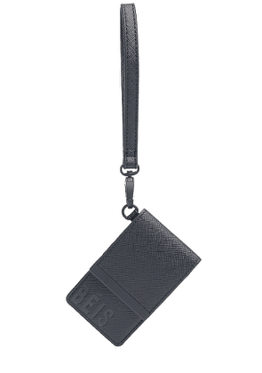BEIS The ID Card Case in Black.
