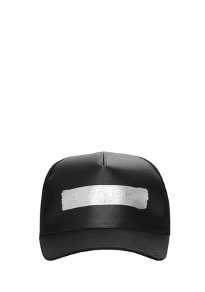 Latex Logo Canvas Cap