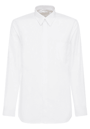 Logo Cotton Poplin Shirt