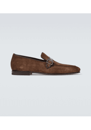 Pamesa suede loafers