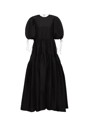 Lara tiered faille gown