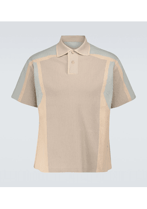 Le Polo Blé short-sleeved polo