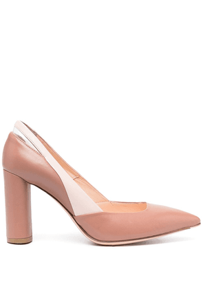 AGL pointed toe pumps - Neutrals