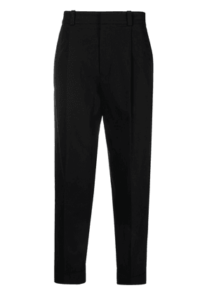 Acne Studios tapered-fit trousers - Black