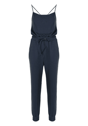 Cinq A Sept Finnley french terry jumpsuit - Blue