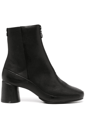 Camper Upright leather ankle boots - Black
