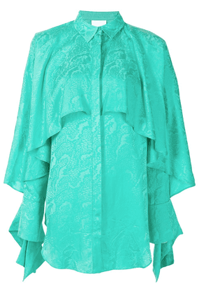 Acler Stanley draped blouse - Green