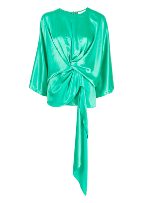 Acler Irwin twist-front blouse - Green