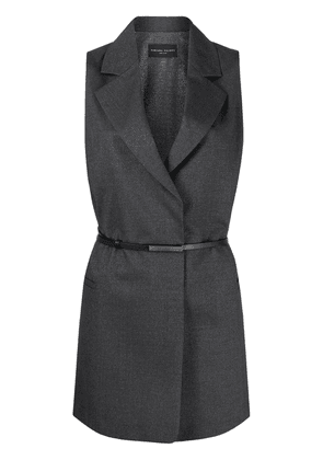 Fabiana Filippi single-breasted tailored gilet - Grey