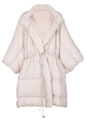 Cynthia Rowley Cindy oversized padded coat - PINK