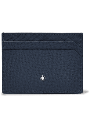 MONTBLANC - Sartorial Cross-Grain Leather Billfold Wallet - Men - Blue