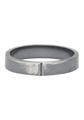 Chin Teo SSENSE Exclusive Silver Midnight Ring