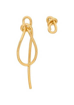 Completedworks Gold Thread Earrings