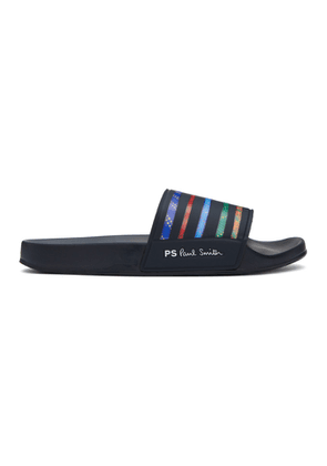 PS by Paul Smith Multicolor Striped Summit Slides