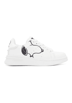 Marc Jacobs White Peanuts Edition The Tennis Shoe Sneakers