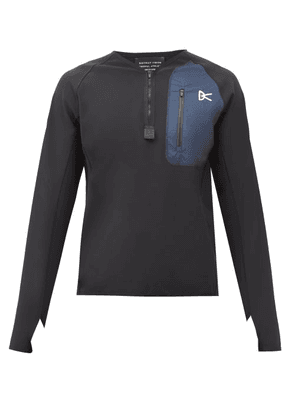 District Vision - Rocco Technical-jersey Sweatshirt - Mens - Navy