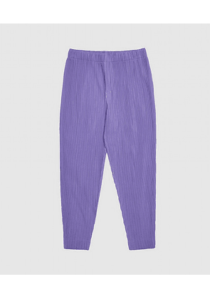 PLEATS TAPERED TROUSER