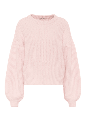 Cerra ribbed-knit cotton-blend sweater