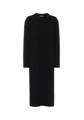 Wool and cashmere sweater dress