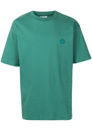 Drôle De Monsieur Not From Paris Madame cotton t-shirt - Green