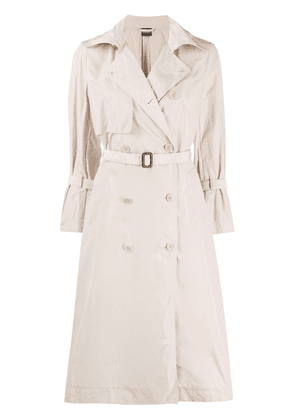 Aspesi belted trench coat - Neutrals