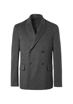 MR P. - Double-Breasted Unstructured Cashmere Blazer - Men - Gray
