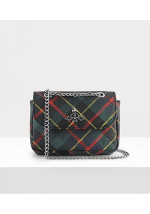 Derby Small Purse With Chain Hunting Tartan