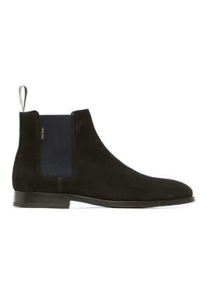 PS by Paul Smith Black Suede Gerald Chelsea Boots