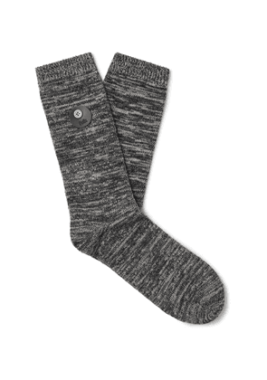 FOLK - Melangé Cotton-Blend Socks - Men - Multi