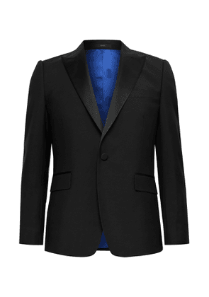 PAUL SMITH - Soho Slim-Fit Satin-Trimmed Wool and Mohair-Blend Tuxedo Jacket - Men - Black