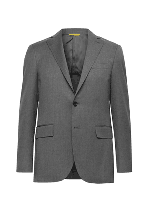 CANALI - Kei Slim-Fit Unstructured Wool Suit Jacket - Men - Gray