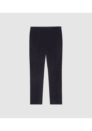 Reiss Esher - Slim Fit Corduroy Trousers in Navy, Mens, Size 34